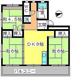 工藤ビル[3階]の間取り