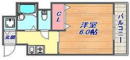 六甲グランフォーレ[205号室]の間取り
