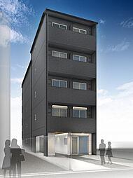 仮称)西院平町新築マンション[401号室]の外観