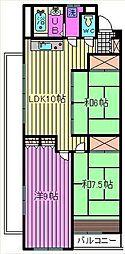 大宮プレジデントマンション[7階]の間取り