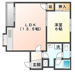 タイガーテクノハウス[1階]の間取り