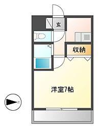 ビハーラ白壁[2階]の間取り