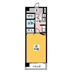 リバーコート[2階]の間取り