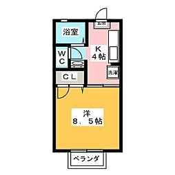 蕉風[2階]の間取り