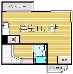 ライオンズマンション大山幸町[6階]の間取り