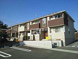 岡山県倉敷市児島味野5丁目の賃貸アパートの外観