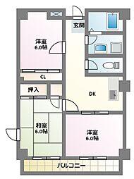 グレイス原宿I[1階]の間取り