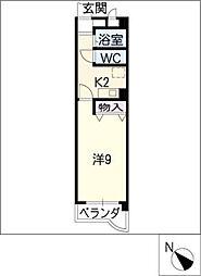 サン・モール井田野並[5階]の間取り
