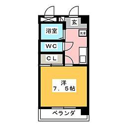 レニアコジュウ[2階]の間取り