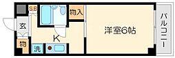 ハイツ篠崎[1階]の間取り