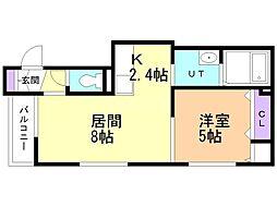 白石駅 4.9万円