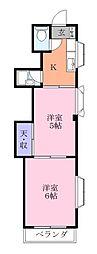 新実籾ビル[2階]の間取り