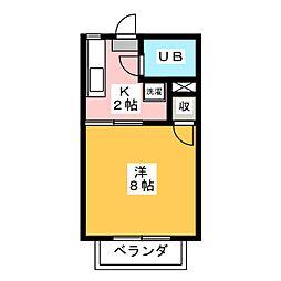 LIBERTY[2階]の間取り