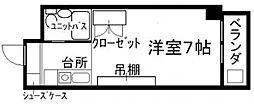 KUWADA[6階]の間取り