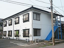 新潟県新潟市中央区米山6丁目の賃貸アパートの外観