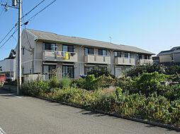 兵庫県姫路市飾磨区中野田3丁目の賃貸アパートの外観