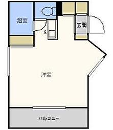 パンルネックスクリスタル大濠I[1階]の間取り