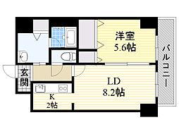 メゾン・ド・北円山さくら[302号室]の間取り