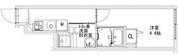 JR中央本線 西荻窪駅 徒歩8分の賃貸アパート 1階1Kの間取り