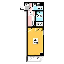 カーサ・ミラ北寺島[10階]の間取り