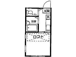 パンシオン町田[2階]の間取り