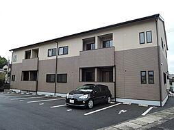 福岡県中間市長津1丁目の賃貸アパートの外観