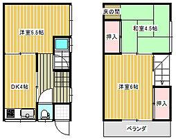 [一戸建] 兵庫県尼崎市大庄北5丁目 の賃貸【/】の間取り