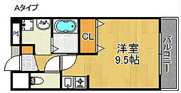 プチ・ソレール[2階]の間取り