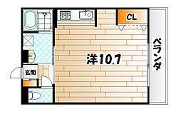 プリンスビル[2階]の間取り