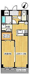 サンライズコード[2階]の間取り
