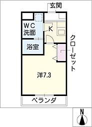 ACRO YASHIRODAI[5階]の間取り