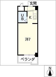 DOLL堀田I[2階]の間取り
