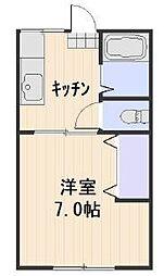 西川原駅 2.5万円