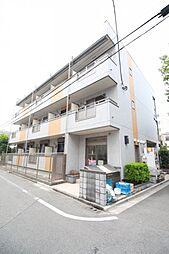 東京都北区豊島3丁目の賃貸アパートの外観