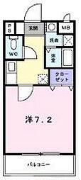 昴谷上[2階]の間取り