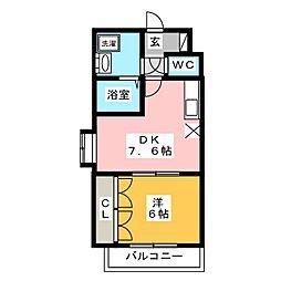 コンドミニアム・ステーションサイド博多[6階]の間取り