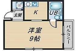 オルビスハイム[2階]の間取り