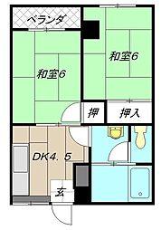 MDIマンション苅田駅前[503号室]の間取り
