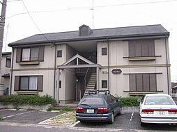 埼玉県熊谷市別府3丁目の賃貸アパートの外観