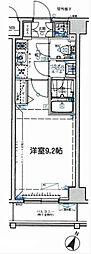 プレスタイル横濱SOUTH[2階]の間取り
