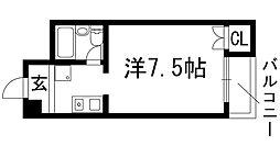 松尾ビル[3階]の間取り