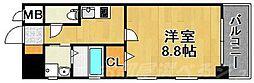 MDIグランデ・ラブロ香春口[4階]の間取り