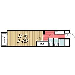 千葉県千葉市緑区鎌取町の賃貸アパートの間取り