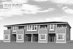 波志江町アパート[0202号室]の外観
