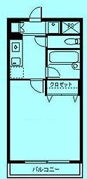 さぎぬま山荘A棟[3階]の間取り