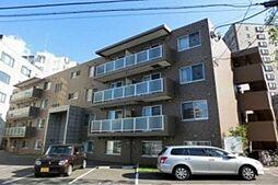北海道札幌市白石区南郷通14丁目南の賃貸マンションの外観