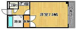 ハイツキシダ[202号室]の間取り