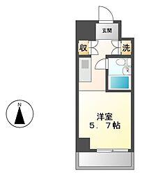 朝日プラザ名古屋ターミナルスクエア[9階]の間取り