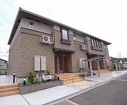 京都府木津川市城山台の賃貸アパートの外観