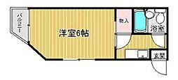 PLEAST愛宕III[5階]の間取り